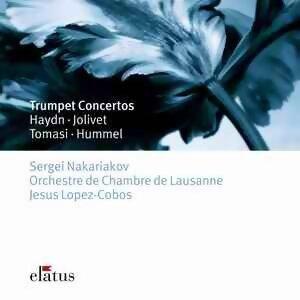 Haydn, Hummel, Tomasi & Jolivet : Trumpet Concertos - -  Elatus