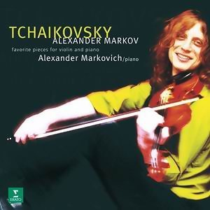 Tchaikovsky : pieces for violin and piano