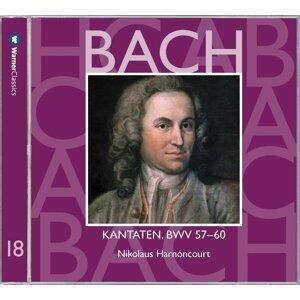Bach, JS : Sacred Cantatas BWV Nos 57 - 60