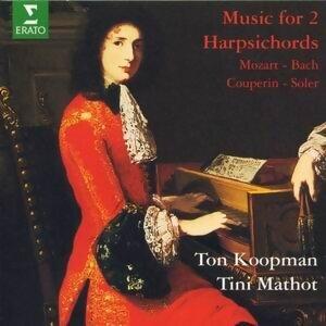 Various : Two harpsichords Concertos