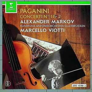 Paganini : violin concertos