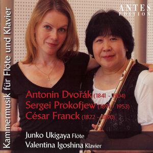 Kammermusik für Flöte und Klavier: Dvorak: Op. 100 - Prokowjew: Op. 94 - Franck: Sonate für Flöte und Klavier in A Major