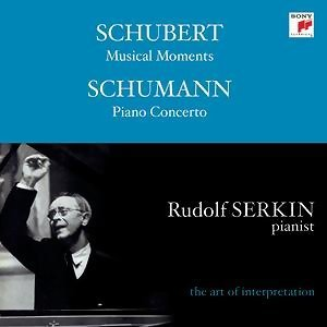 R. Schumann : Concerto for piano and orchestra in A minor/Konzertst? G major - F. Schubert : Musical moments