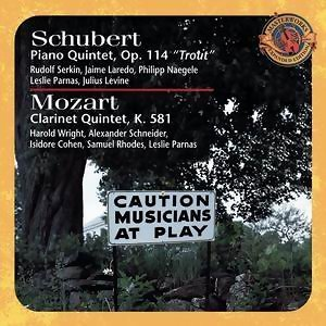 Schubert: Trout Quintet & Mozart: Clarinet Quintet [Expanded Edition]