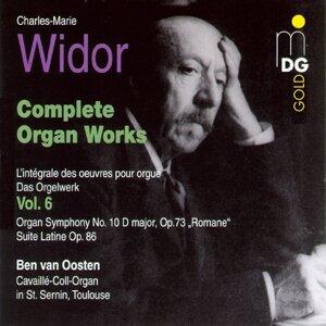 Widor: Complete Organ Works Vol. 6