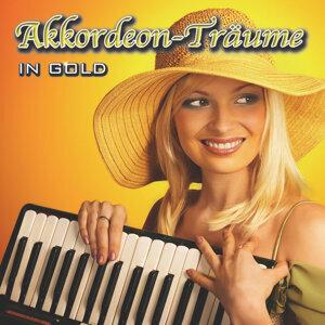 Akkordeon-Träume in GOLD