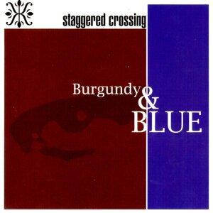 Burgundy & Blue