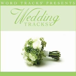 Wedding Tracks - When I Fall In Love [Performance Track]