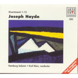 Haydn: Divertimenti Vol. 1-4