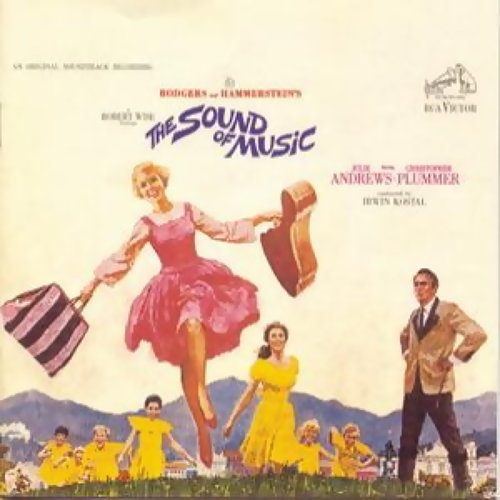 真善美電影原聲帶(An Original Soundtrack Recording The Sound Of Music) 專輯封面