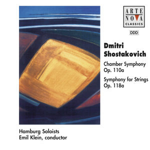 Shostakovich: Chamber Sym. Op. 110 a/Symphony For Strings Op 118 a