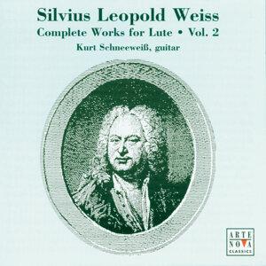 Weiss: Guitar Sonatas Vol. 2
