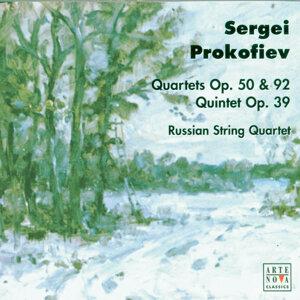Prokofiev: Quartets op.50, op.92/Quintet op.39
