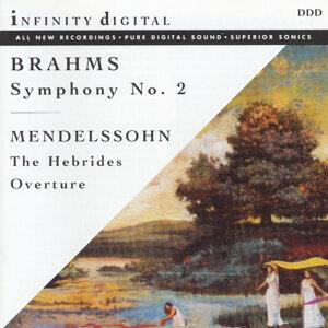 Brahms: Symphony No.2; Mendelssohn: Hebrides Overture
