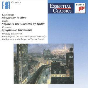 Gershwin: Rhapsody in Blue; De Falla: Nights in the Gardens of Spain; more