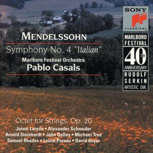"Mendelssohn: Symphony No. 4, Op. 90 ""Italian"" & Octet for Strings, Op. 20"