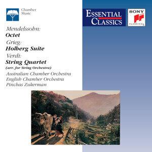 Mendelssohn: Octet; Grieg: Holberg Suite; Verdi: String Quartet