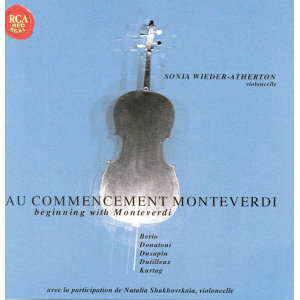 Au Commencement Monteverdi / Beginning With Monteverdi