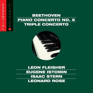 Beethoven:  Emperor & Triple Concertos