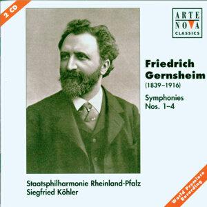 Gernsheim: Symphonies No. 1-4
