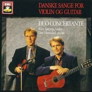 Danske Sange For Violin Og Guitar