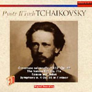 TCHAIKOVSKY LO SCHIACCIANOCI - SYMPH. N. 4