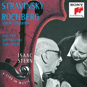 Stravinsky/Rochberg:  Violin Concertos