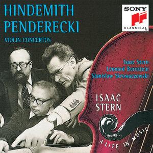 Hindemith/Penderecki:  Violin Concertos