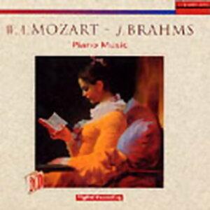 MOZART / BRAHMS PIANO MUSIC