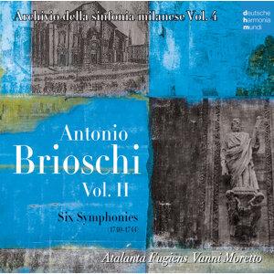 Antonio Brioschi  Vol. II - Six Symphonies (1740-1744)