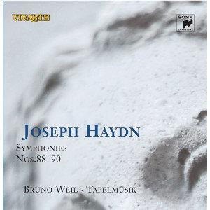 Haydn: Symphonies Nos. 88 - 90