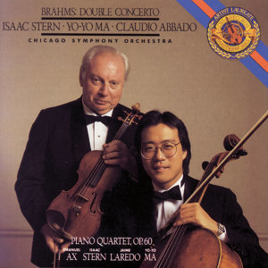 Brahms:  Concerto for Violin, Cello and Orchestra in A Minor, Op. 102 & Piano Quartet No. 3 in C Minor, Op. 60