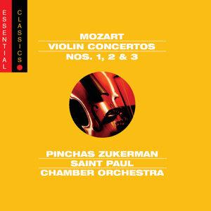 Mozart:  Concertos Nos. 1-3 for Violin and Orchestra
