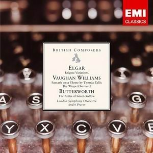 Elgar: Enigma Variations . Vaughan Williams . Butterworth