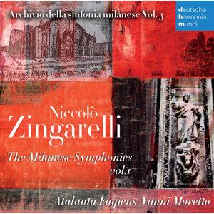 Niccolò Zingarelli The Milanese Symphonies 1