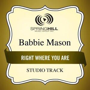 Right Where You Are (Studio Track)