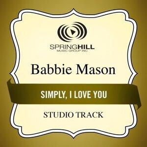 Simply, I Love You (Studio Track)