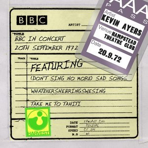 BBC In Concert [Hampstead Theatre Club, 20th September 1972] - Hampstead Theatre Club, 20th September 1972