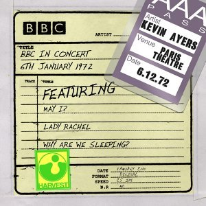 BBC In Concert [Paris Theatre, 6th January 1972] - Paris Theatre, 6th January 1972