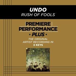 Premiere Performance Plus: Undo