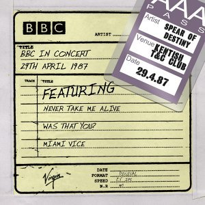 BBC In Concert (29th April 1987)