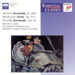 Mozart: Serenade K.388; Beethoven: Octet Op.103; Dvorák: Serenade Op.44