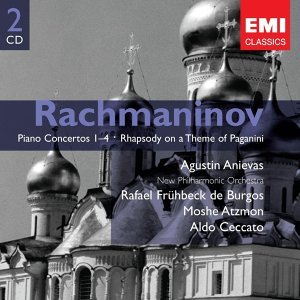 Rachmaninov: Piano Concertos 1-4 & Rhapsody on a Theme of Paganini