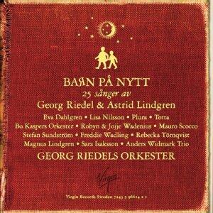 Barn på nytt - 25 sånger av Georg Riedel & Astrid Lindgren