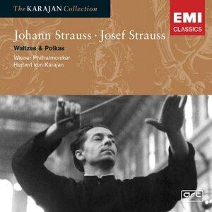 Johann & Josef Strauss: Waltzes & Polkas