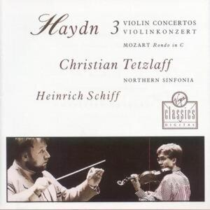 Violin Concertos In C, G And A/Rondo