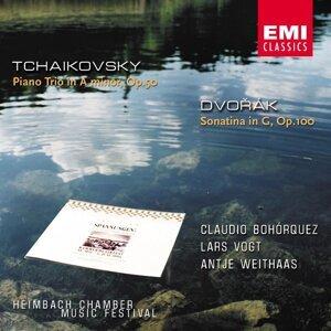 Dvorák: Sonatine Op.100 / Tchaikovsky: Piano Trio Op.50