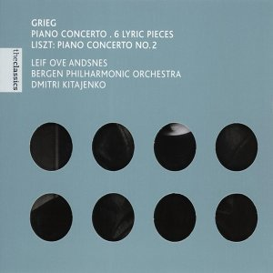 Grieg: Piano Concerto, 6 Lyric Pieces - Liszt: Piano Concerto No. 2