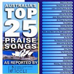 Australia's Top 25 Praise Songs