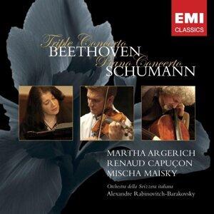 Beethoven: Triple Concerto & Schumann: Piano Concerto